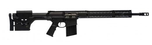 """Black Rain BRO-PREDATOR-BLK-18-308 Hunting BRO Predator Semi-Auto 308 Winchester/7.62 NATO 18"""" 30+1 Magpul PRS Hard Coat Anodized"""