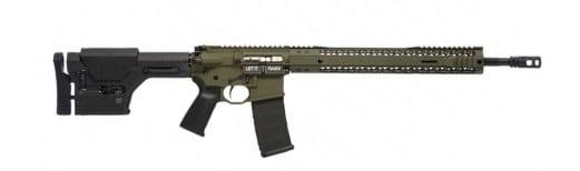 "Black Rain BRO-PREDATOR-OD-18 Hunting BRO Predator Semi-Auto .223/5.56 NATO 18"" 30+1 Magpul PRS OD Green Cerakote"