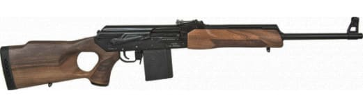 "Russian VEPR .308 Rifle W / 23"" BBL, Thumb hole, Walnut - Type 01 sights - VEPR-308-03"