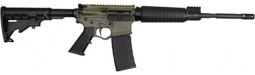 """Limited Edition Battlefield Green ATI GOMX556P3 Omni Hybrid MAXX P3 Semi-Auto .223/5.56 NATO 16"""" 30+1"""