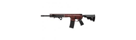 "LWRC IC DI 5.56 Rifle, Direct Impingement 16"" Flat Dark Red - ICDIR5FDR16"