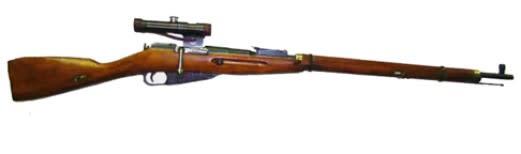 Original Russian Mosin Nagant PU Sniper Rifle M91/30 Arsenal Refurbished w/ Original Scope and Mount - 7.62x54R