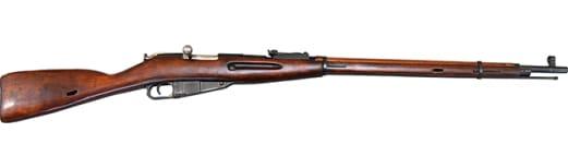Russian M91/30 Mosin Nagant Ishevsk Dragoon Era Rifle, w/ Hex Receiver Surplus Good / Very Good