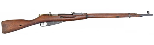 Russian M91/30 Mosin Nagant Rifle, Bolt Action 7.62x54R - Original Turn In Condition