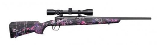 """Savage Arms 57271 Axis XP Youth .223 20"""" 3-9x40 MATTE/MUDDY Girl Ergo"""