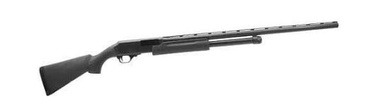"""H&R Pardner Pump 12GA Shotgun, 28"""" Black Synthetic Stock Black - 72260"""