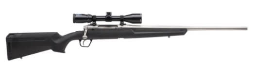 """Savage Arms 57290 Axis XP S/S 22"""" 3-9x40 SS/BLACK Synthetic Ergo Stock"""