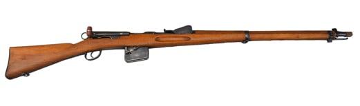 Swiss Schmidt Rubin Model 1889 Rifle - Antique - NO FFL REQUIRED