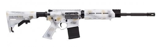 Alex Pro Firearms RI013SNO Arctic 223WYLDE 16 Optic Ready Snow Camo
