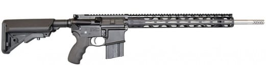 "Radical Firearms 22 Nosler AR15, 18"" Stainless Match Barrel, Medium Contour, 15"" RPR, SOPMOD - FR18-22NOS-SS-M-15RPR"