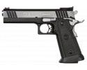 "SPS SPP9BC Pantera SAO 9mm 5"" 21+1 Black Poly Grip Black Frame Black/Chrome Slide"