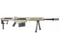 "Barrett 14558 M107A1 SA 50 (bmg) 20"" 10+1 Fixed FDE Stock FDE/Black"