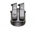 Fobus 6945HP Double MagPaddle 6945HP Double Stack Black Plastic