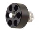HKS 32J Speedloader Revolver Ruger SP101 Taurus 73, 74, 731, 741 S&W J-Frame Black