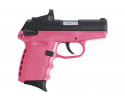 SCCY CPX-1CBPKRD Black Slide PNK Grip RD Dot 10R