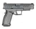 "Springfield XDME9459BHC Elite 9MM Semi-Auto Pistol, 4.5"" BBL, 20 Round - Black"