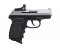 SCCY CPX-2TTRDDE TT/BLK -  9mm, Semi-Auto, No Safety, Red Dot,  10 Round