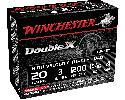 "Winchester Ammo STH2034 Double X Turkey 20GA 3"" 1-5/16oz #4 Shot - 10sh Box"
