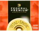 "Federal P108F00 Premium Vital-Shok 10GA 3.5"" 18 Pellets 00 Buck Shot - 5sh Box"