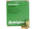Remington Ammunition R32BLNK Centerfire Blank 32 Smith & Wesson - 50rd Box