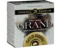 "Federal GMT11475 Gold Medal Grand Target 12GA 2.75"" 1-1/8oz #7.5 Shot - 25sh Box"