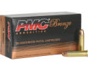 PMC 38G Bronze 38 Special Target 132 GR Full Metal Jacket - Brass, Boxer, Re-loadable - 50 Rounds Per Box
