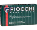 Fiocchi 308D Rifle Shooting 308 Winchester/7.62 NATO Boat Tail Soft Point 165 GR - 20rd Box