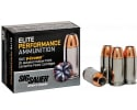Sig Sauer E9MMA220 V-Crown Elite Performance 9mm Luger 124 GR Jacketed Hollow Point - 200 Round Case