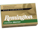 Remington Ammunition RM308W7 Premier Match 308 Winchester/7.62 NATO 168 GR Hollow Point Boat Tail - 20rd Box