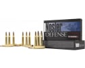 Nosler 39685 Defense Rifle 308 Win/7.62 NATO Bonded Solid Base 168 GR/10Cas - 20rd Box