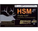 HSM BER270WSM130 Trophy Gold 270 WSM 130 GR Boat Tail Hollow Point - 20rd Box