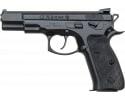 "CZ 91136 CZ 75 Omega DA/SA 4.6"" 16+1 Black Polymer Grip"