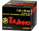 Tulammo -  7.62x39 Ammunition - 122 GR, FMJ, Lead Core, Non-Corrosive - 1000 Round Case -  Russian Tula Ammunition