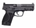 """Smith & Wesson 13144 M&P 9 M2.0 Compact 4"""" 15+1 Optic Ready Black Armornite Stainless Steel Slide Black Polymer Grip"""