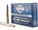 PPU PP375S Standard Rifle 375 Holland & Holland Magnum 300 GR Soft Point Round Nose - 10rd Box