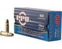 PPU PPH763 Handgun 7.63mm Mauser 85 GR Full Metal Jacket - 50rd Box