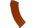 "AK-47 7.62X39 30 Round "" Bakelite Style"" Polymer Magazine - Sunset Orange Color"
