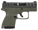 "Beretta APX Carry Semi-Auto Pistol 9mm 6/8rd 3.07"" Barrel OD Green Frame w/ Black Slide - JAXN92007"