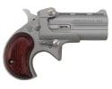 Cobra Industries Bearman Derringer .22LR, Over / Under 2 Round With Satin / Rosewood Grips - CL22LSR