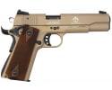 "ATI GSG M1911 .22 LR 10+1 Cap, 5"" Pistol - Tan Finish - GERG2210M1911T"