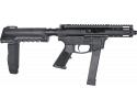 "Foxtrot Mike FM-9 Semi-Automatic AR-15 Pistol 9mm 5"" Threaded Barrel - 7920-9MM-5 W / Free Sylvan Pistol Brace."