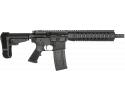 "RGuns RGQ Semi-Automatic AR-15 Pistol 10.5"" Barrel .223/5.56NATO 30rd - YHM Flash Suppressor - SB Tactical SBA3 Brace - Black Finish"