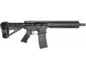 "RGuns RGQ Semi-Automatic AR-15 Pistol 10.5"" Barrel .223/5.56NATO 30rd - YHM Flash Suppressor - Adjustable SB Tactical SBA4 Brace - Black Finish"