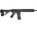 "RGuns RGQ Semi-Automatic AR-15 Pistol 10.5"" Barrel .223/5.56NATO 30rd - YHM Flash Suppressor - SB Tactical SBM4 Brace - Black Finish"
