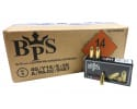 BPS - 9x19mm Parabellum Pistol Cartridges - 124 Grain - FMJ - Brass Cased - Boxer Primed - Reloadable - Non-Corrosive - 1000 Round Case - BPS9MM124FMJ