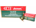 Barnaul 7.62X54R - 148 Grain FMJ Ammo - Steel Lacquered Case - 20 Rounds/Box - 500 Round Case