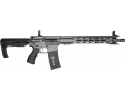 Fostech Eagle Light Weight AR-15 Semi-Automatic Rifle .223/5.56 30rd - AR II Echo Trigger Installed - Tungsten Finish - 4162-TUN-BLEM