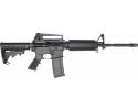 "RGuns KTA-15 Semi-Automatic AR-15 Rifle 16"" .223/5.56NATO 30rd, With Detachable A2 Rear Sight Carry Handle - Black"