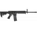 "RGuns RGQ Semi-Automatic AR-15 Rifle 16"" Heavy Barrel .223/5.56NATO 30rd - Includes YHM Front Flip-up Sight & Quad Rail"