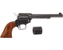 """Heritage Rough Rider Revolver - .22 LR / .22 Mag Combo, 6.5"""" Blued with Wood Grips"""